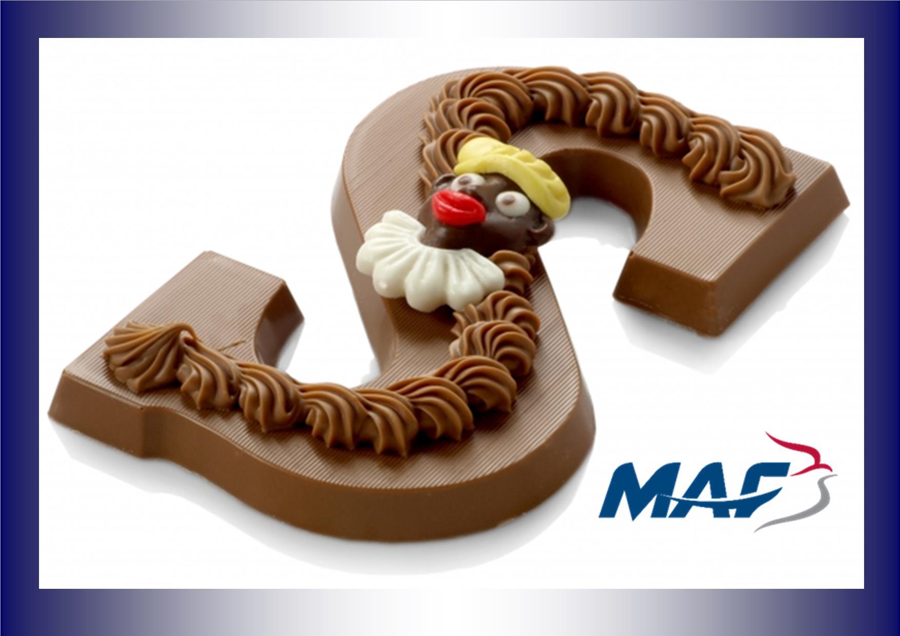 Chocoladeletters en vleesactie